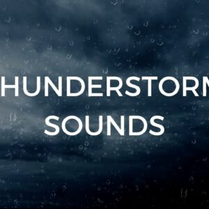 Thunderstorm Sounds for Sleeping Deeply & Relaxing | Gentle Thunder & Rain Sounds: Natural Sleep Aid