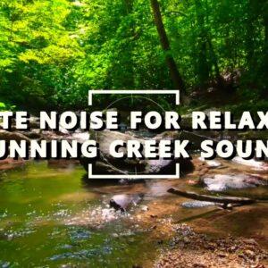 ASMR - White Noise - Sound Of Running Water - RELAX & MEDITATION - 4K