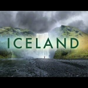 Iceland 4K ultra With relaxing music, beautiful Relaxing music