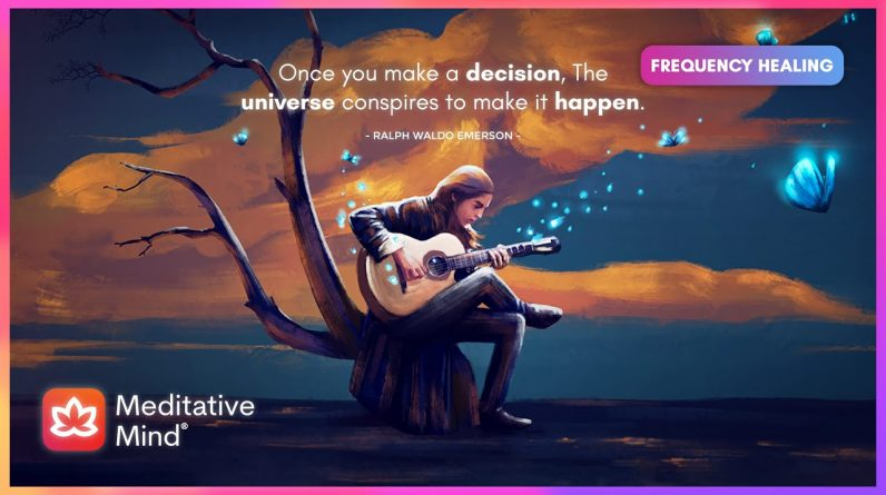 444Hz || Glorious Guitars || Ask the Universe what you want || Manifest Anything